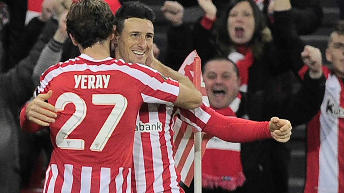 Aduriz, máximo goleador del torneo, repite en el once ideal