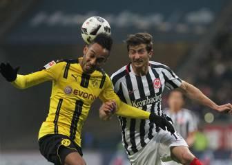 El Dortmund cae ante el Eintracht y se distancia del liderato