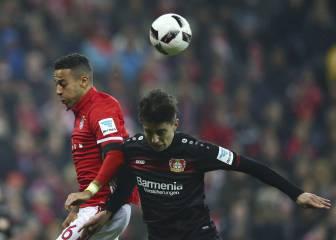 Trabajado triunfo del Bayern con goles de Thiago y Hummels