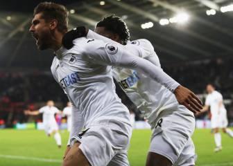 Negredo y Llorente hacen un doblete con Boro y Swansea