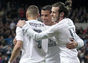 El Madrid se lleva la victoria en el 78% de partidos sin la BBC