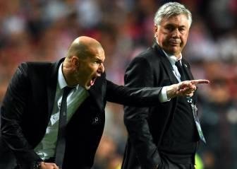 Zidane iguala la mejor racha de Ancelotti: 31 partidos sin perder