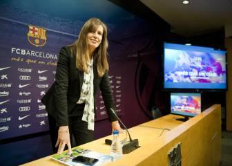 Susana Monje dimite como vicepresidenta del Barcelona