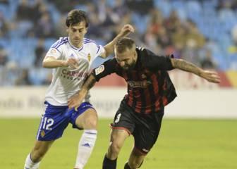 Dongou rescata un punto para el Zaragoza en el 88'