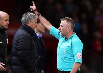 Mourinho la vuelve a liar: segunda expulsión en el United