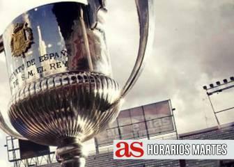 Copa del Rey: Horario y dónde ver en TV la jornada del martes