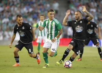 El Betis siempre eliminó al Deportivo en Copa del Rey