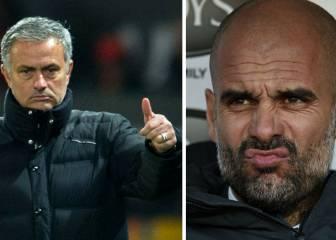 Lo nunca visto: Pep Guardiola se alía con Mourinho
