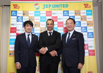 Esnáider, presentado como nuevo entrenador del Jef United Chiba