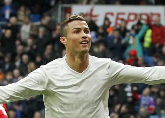 Cristiano llegó a los 400 con su doblete al Sporting de Gijón