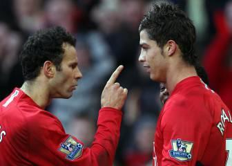 Giggs explica por qué Cristiano es el mejor con el que jugó