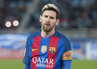 Messi no se entrenó: la alarma crece en el Barça para el Clásico