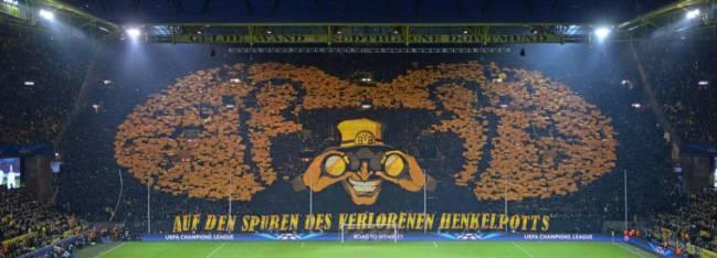 Südtribüne, la espectacular grada del estadio del Borussia Dortmund