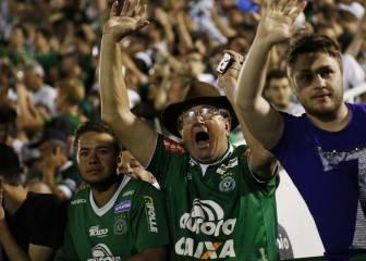 Tres días de luto en Brasil por la tragedia de la Chapecoense