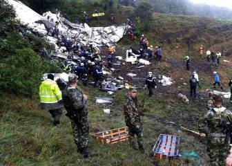 Una cadena de errores causó la tragedia aérea del Chapecoense