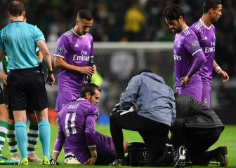 Parte médico de Bale: operado