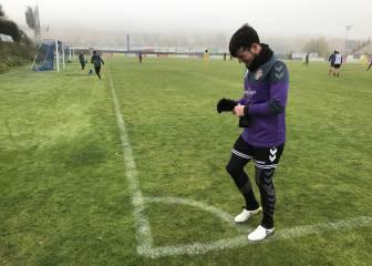 Jose, con lumbalgia, duda para el partido de Copa ante la Real