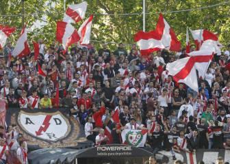 El club y la afición del Rayo se unen contra el racismo