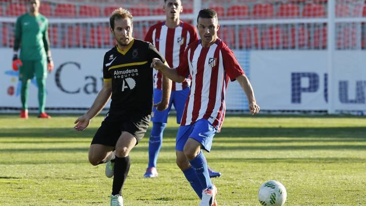 El Atlético evitó un \'caso Cheryshev\' al convocar en la mañana del miércoles a Roberto Olabe en lugar de a Keidi Bare, expulsado por roja directa en el último partido del Atlético B.