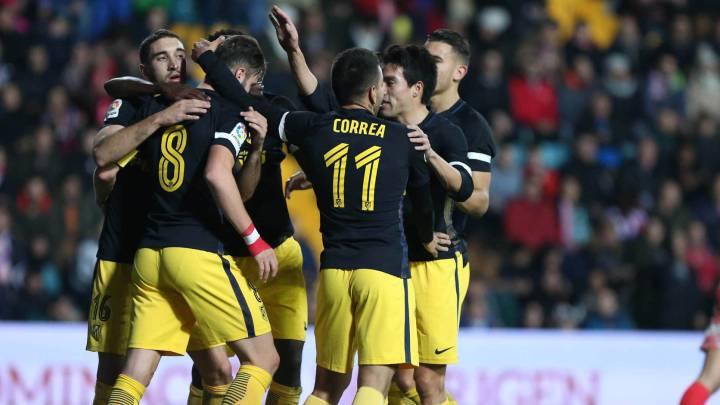 El Atlético, uno a uno: un genial Gaitán lanzó a todos los demás