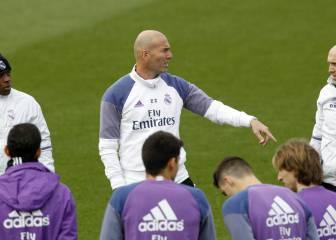 Zidane mantiene la moral: utilizó a los 24 del primer equipo