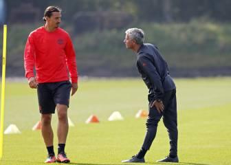 Mourinho deja en manos de Ibrahimovic uno de sus fichajes