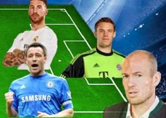 Robben elige el 11 ideal de los compañeros con que ha jugado