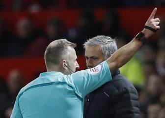Un partido de sanción y 18.000 euros de multa para Mourinho