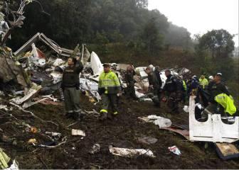 Identificadas 45 víctimas del accidente aéreo en Colombia
