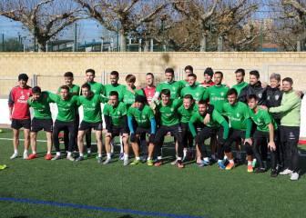 El Guijuelo-Atlético devuelve hoy el fútbol al Helmántico