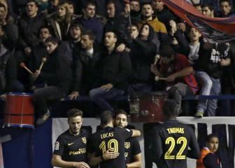 LaLiga denuncia cánticos contra el Atlético de parte de El Sadar