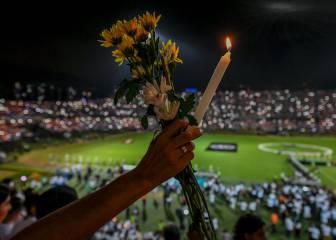 El emocionante homenaje de Atlético Nacional al Chapecoense
