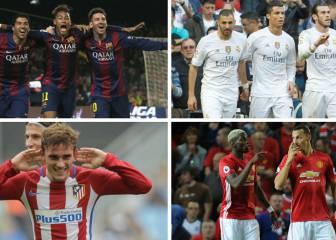11 del Madrid, 9 del Barça y 2 del Atleti, candidatos al FIFA FIFPro