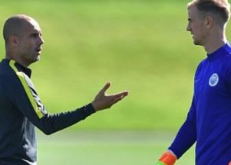 Hart asegura que su futuro no está en el City si sigue Guardiola
