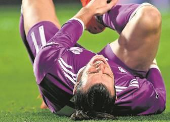 La baja de Bale se alarga: no volverá hasta el mes de abril