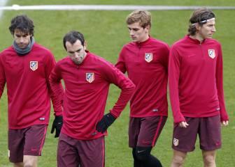 Filipe, con el grupo, volvería al once ante el Espanyol