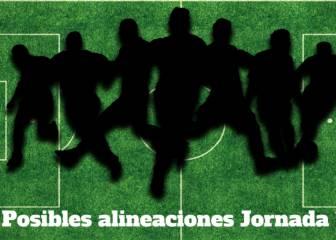 Posibles onces de la 14ª jornada de LaLiga Santander