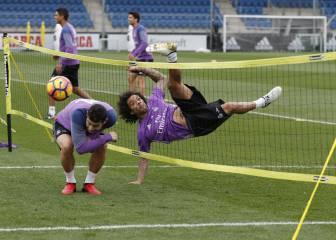 Zidane ya tiene once: Lucas y Kovacic, titulares en Barcelona