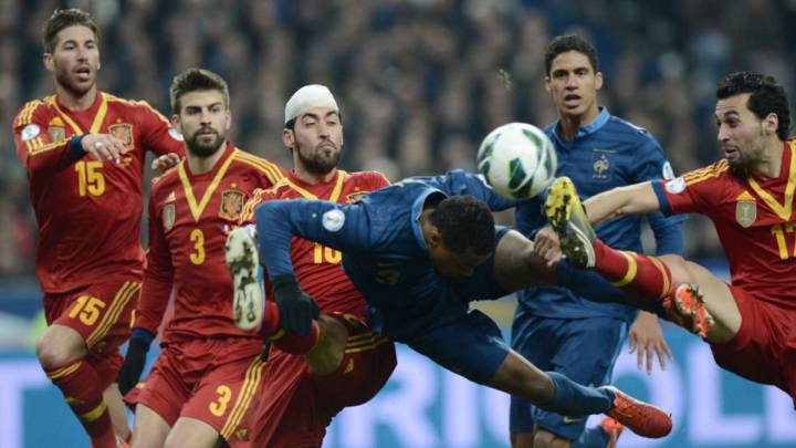 Oficial: Francia-España, amistoso el 28 de marzo en París