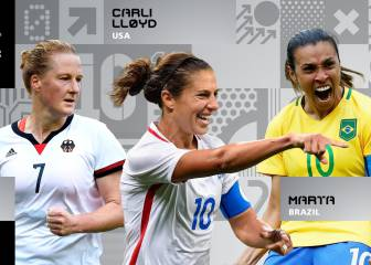 La estadounidense Carli Lloyd es nominada al 'The Best'