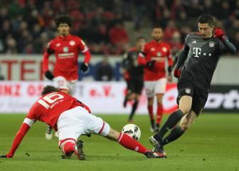Lewandowski y Robben ponen al Bayern líder provisional