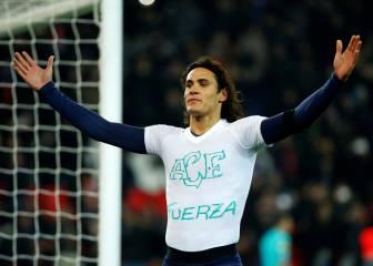 Emery desea que Cavani supere el récord goleador de Ibra