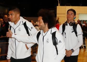Morata viajó con el equipo a Barcelona pese a estar lesionado
