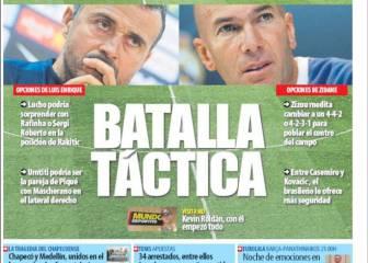 La confianza y la pizarra, en las portadas de Barcelona