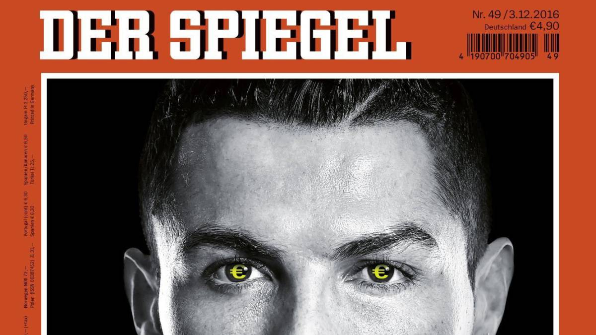 real madrid der spiegel accuses cristiano ronaldo of tax. Black Bedroom Furniture Sets. Home Design Ideas