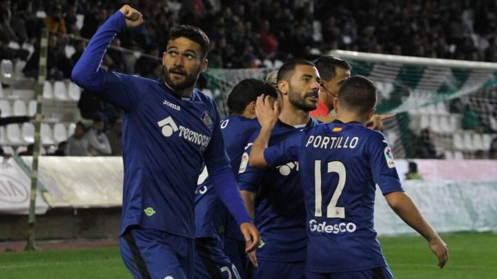 Un doblete de Álvaro asienta al Getafe en puestos de \'playoff\'