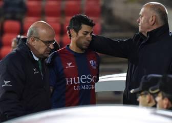 Nagore se rompe el cruzado y el Huesca le renueva hasta 2018