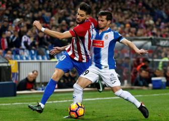 Atlético de Madrid-Espanyol en imágenes