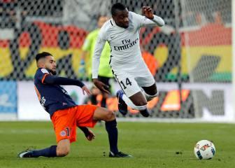 El Montpellier corta la buena racha del PSG de Emery
