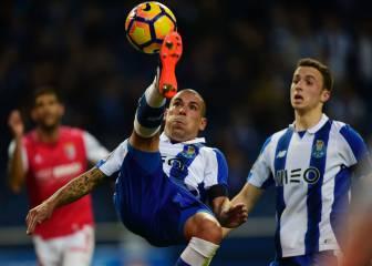 Un gol de Rui Pedro en el 95' dio los tres puntos al Oporto